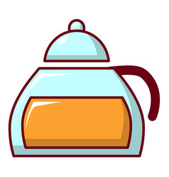 honey in glass jar icon cartoon style vector image