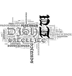 Is dish tv a valuable alternative text background vector