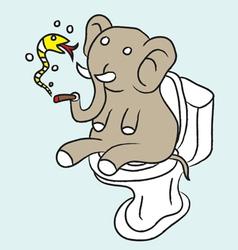Naive elephant vector