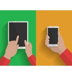 Smartphone and tablet-pc 2 vector image