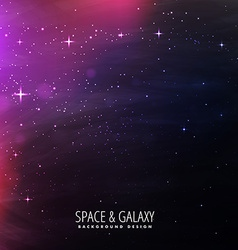 Space lights background vector