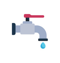 Tap icon faucet icon water vector