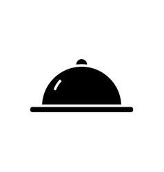 menu launch icon black sign vector image