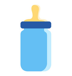 baby bottle icon vector image