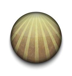 Retro Stripes app icon vector image vector image