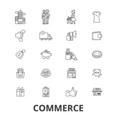 commerce store retail sales price buy sell vector image
