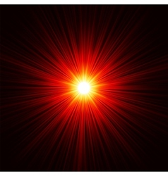 Snowflakes on golden light eps 8 vector