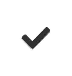check icon approved symbol ok icon check button vector image