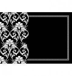 Flourish frame vector
