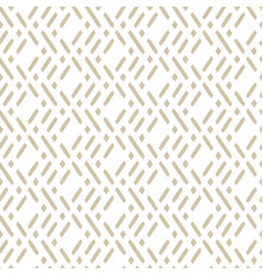 golden geometric seamless traditional pattern vector image