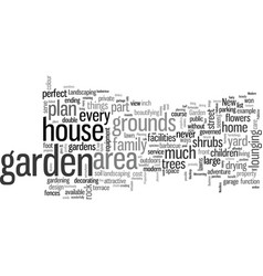 How to make most your garden vector