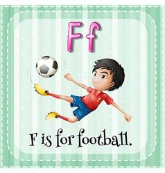 Letter F vector