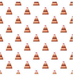 Wedding cake pattern vector