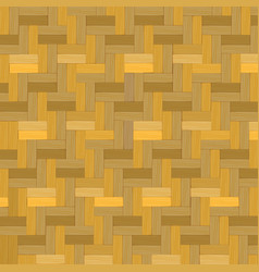 Wooden weave bamboo basket texture background vector