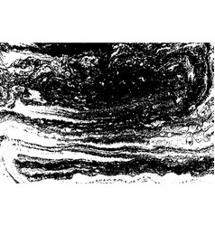Black and white liquid texture hand drawn vector