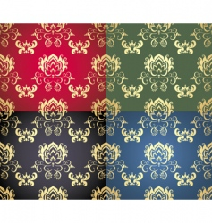 floral background wallpaper vector image