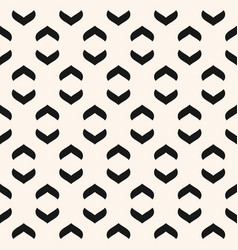 geometric seamless pattern with curved arch vector image