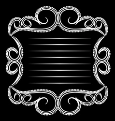 Glamorous Emblem vector