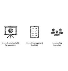 Project competencies vector