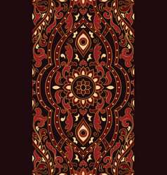 Red abstract pattern vector