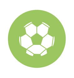 sport soccer ball vector image