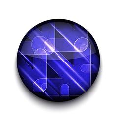 abstract arrows app icon vector image vector image