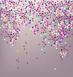 Confetti New Years celebration vector image vector image