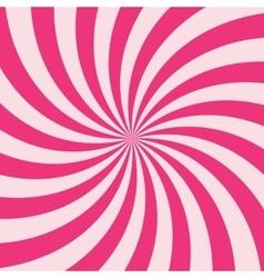 Swirling radial vortex background vector image