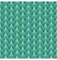 Geometric seamless wavy pattern vector image vector image