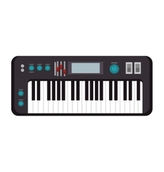 piano musical instrument vector image vector image