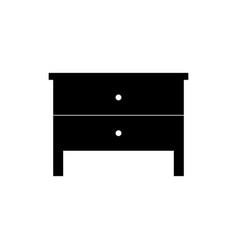 closet cabinet icon vector image