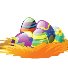 easterB vector image