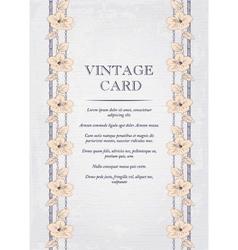 Elegant wedding invitation design Greeting Card vector image vector image