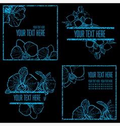 floral back new 001 grunge vector image