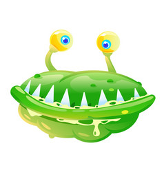 Green bacteria vector