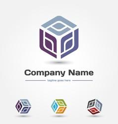 Logo-cube vector