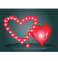 Three hearts by St Valentines Day1 vector