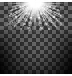 Transparent Sun Light vector