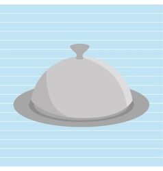 tray of food design vector image