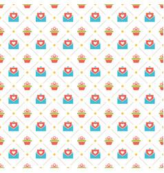 Happy birthday seamless pattern design vector