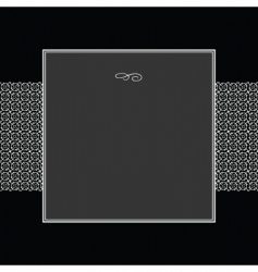 square frame vector image vector image