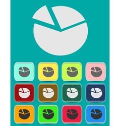 Business concept icon vector