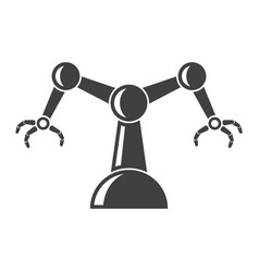 icon of automated manual assembly on white vector image