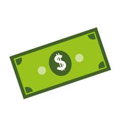 Money bills icon vector