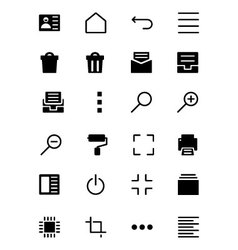 Universal Web and Mobile Icons 6 vector image