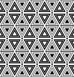 Triangles and diamonds seamless texture vector