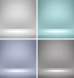 Empty Stage Backgrounds vector image vector image