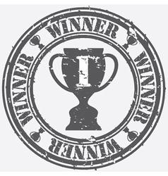 Winner Stamp vector image vector image