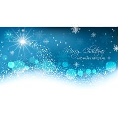 Abstract Christmas card vector