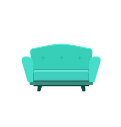 cute sofa vector image